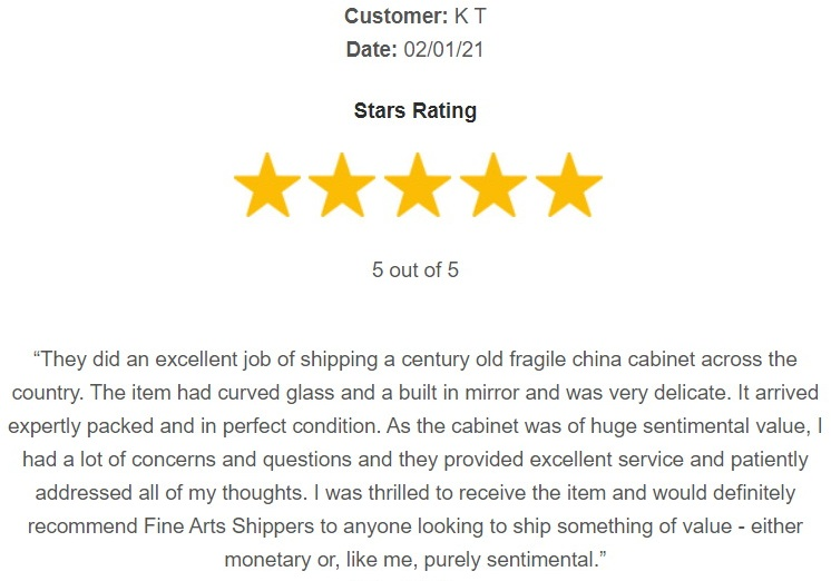 Fine Art Shippers review