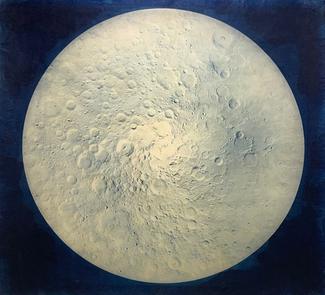 LUNA: A Beautiful Ode to the Moon at Bryant Street Gallery