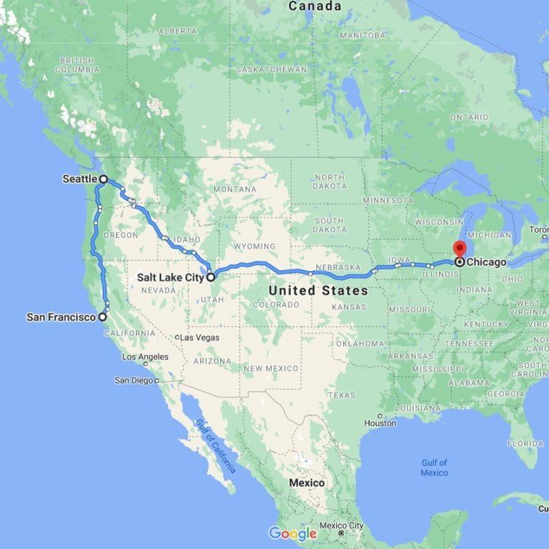 Art Shuttle San Francisco – Seattle – Chicago