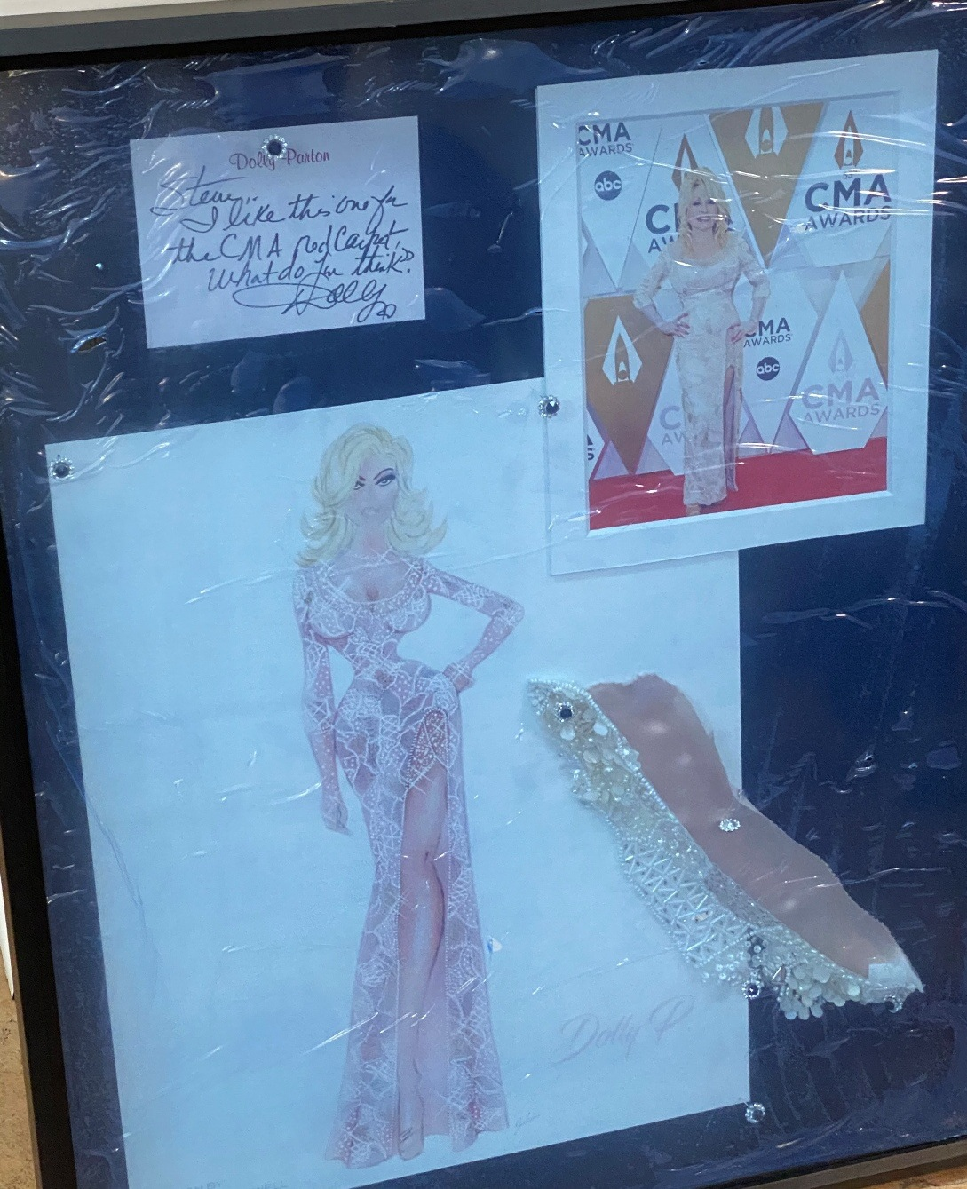 Delivering Dolly Parton's Dress Sold by Doyle Auction House