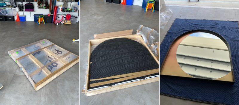 How to Pack a Mirror for Shipping