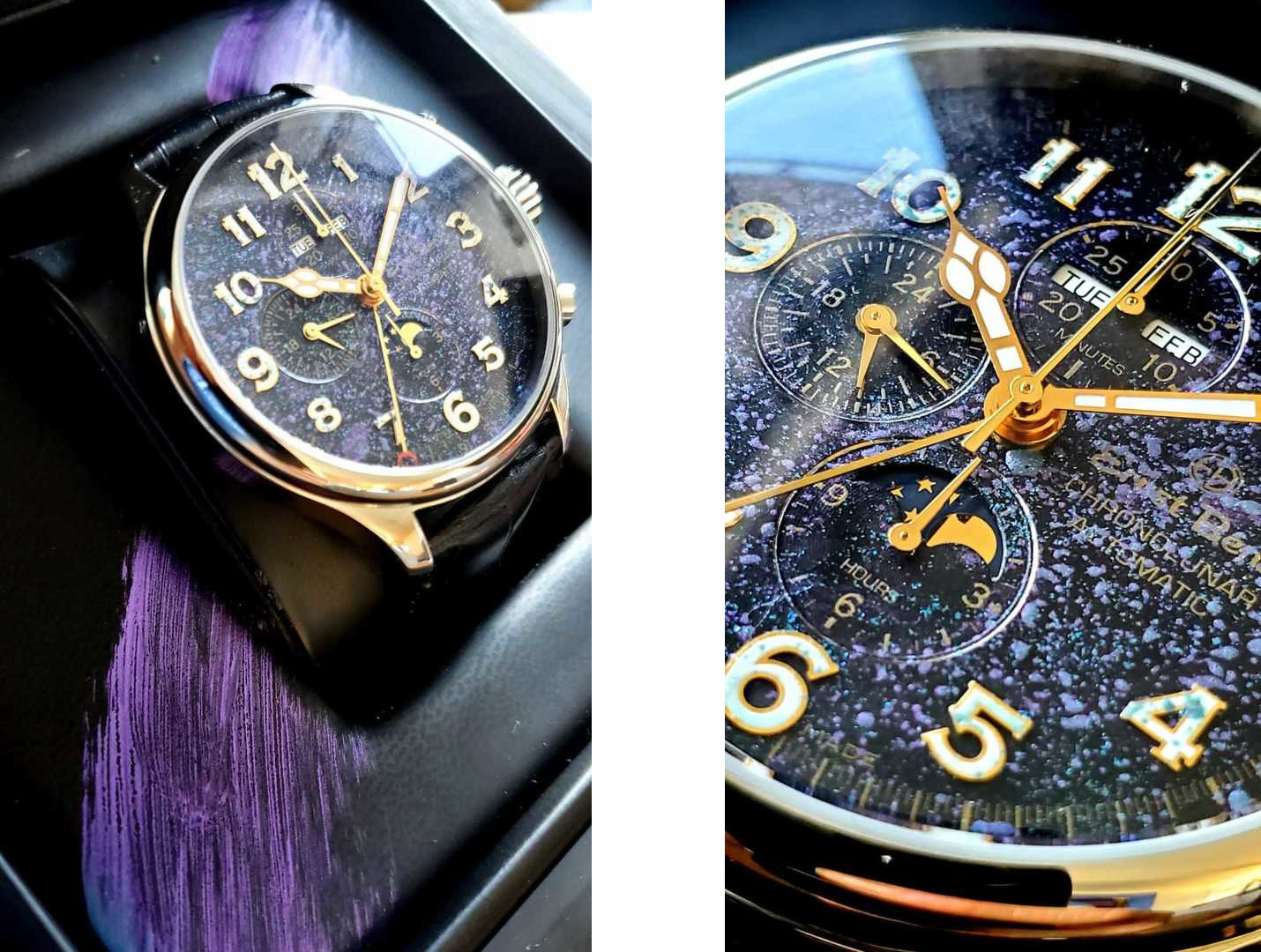 Ernst Benz Unique Timepieces Created in Collaboration with Max Jamali