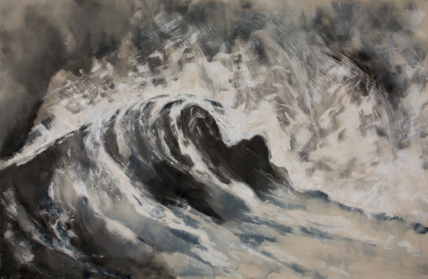 Thea Schrack's New Art Exhibit at Bryant Street Gallery