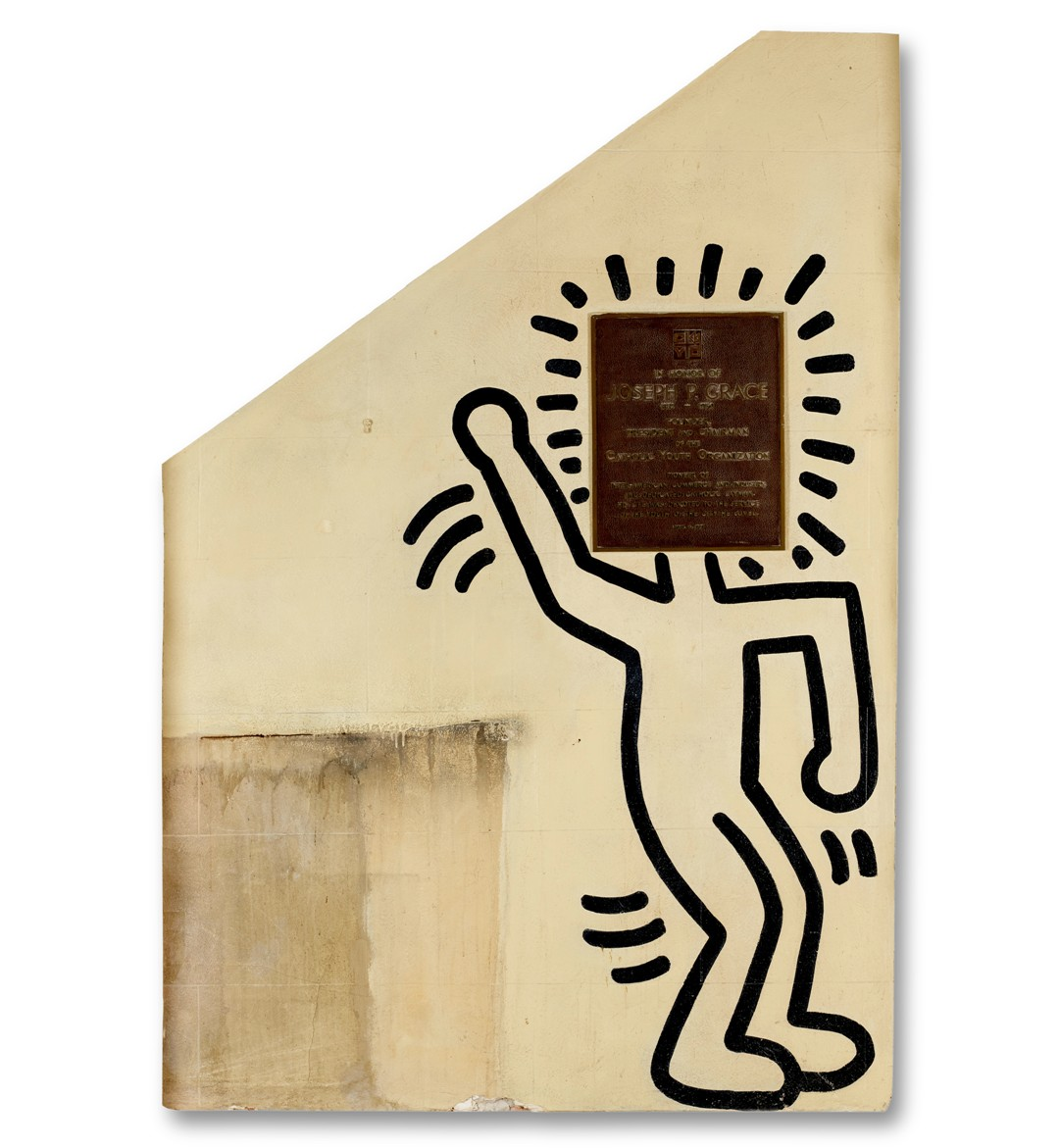 Keith Haring's Grace House Mural