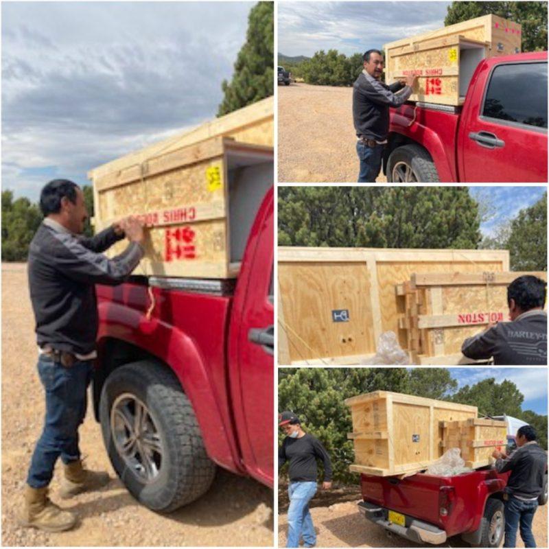 Art Delivery Service to Santa Fe
