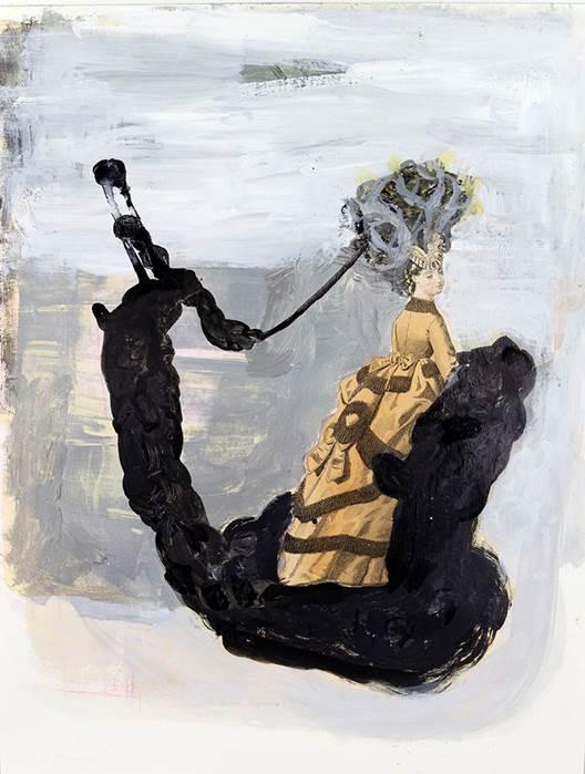 """Deborah Dancy's """"A Faint Light"""" at Robischon Gallery"""