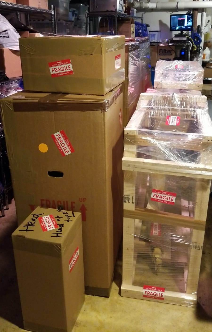 Art packing and art crating services in New York