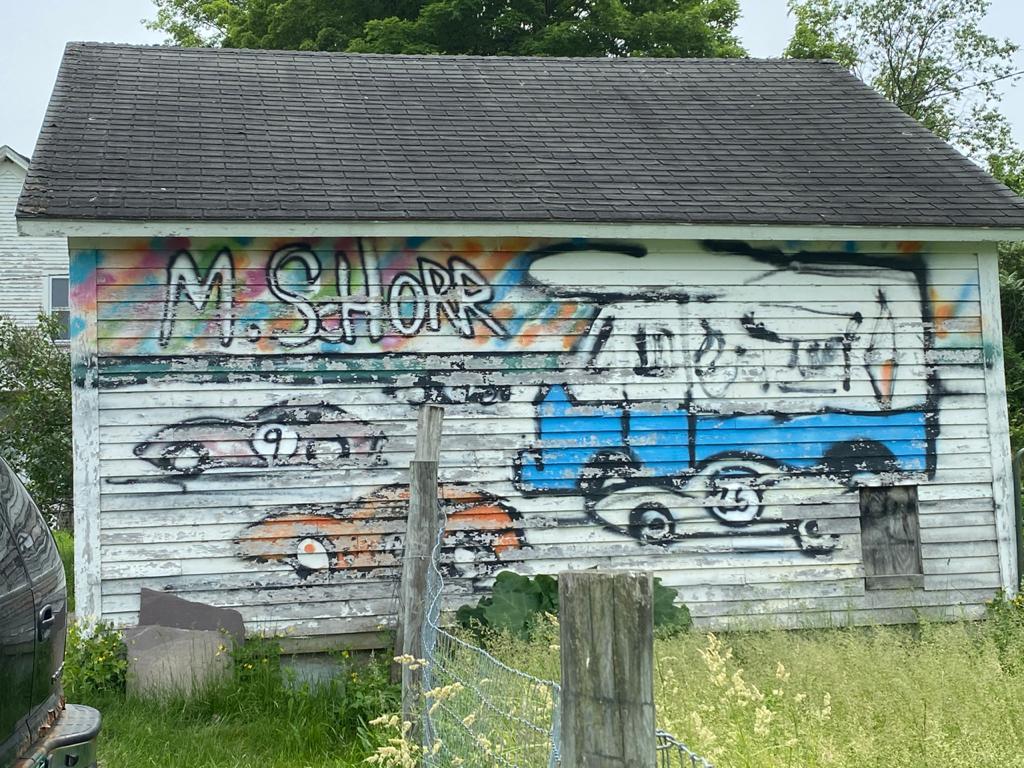 Mitchell Schorr mural