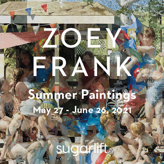 Zoey Frank: Summer Paintings