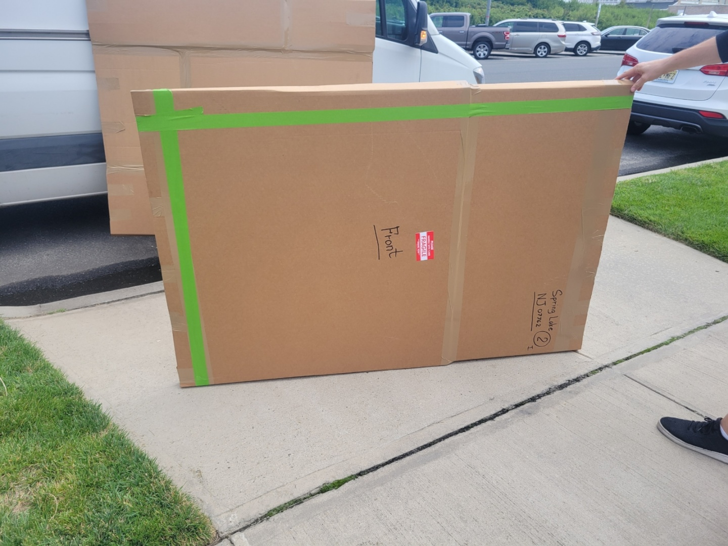 How to Pack a Painting for Shipping