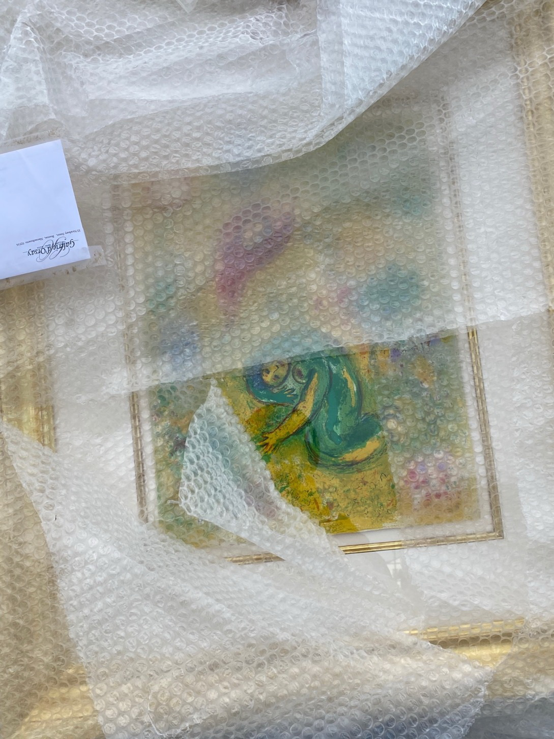 Shipping a Painting by Marc Chagall to Boise, Idaho