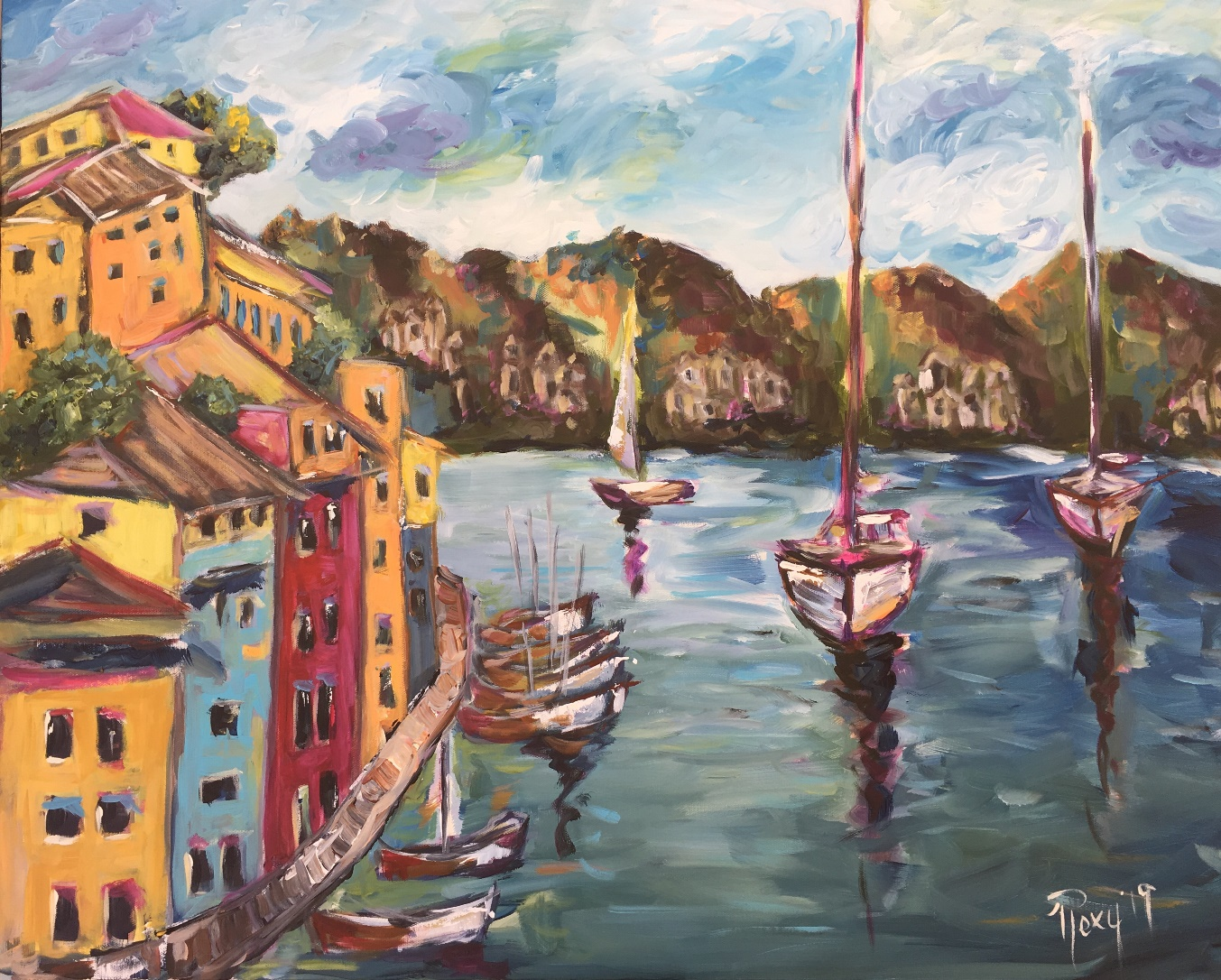 Romantic Impressionism in the Art of Roxy Rich