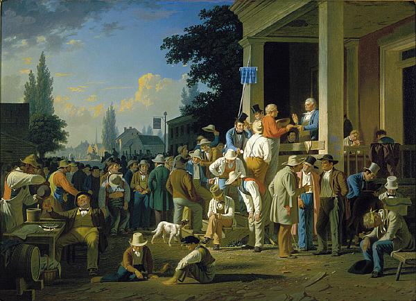 George Caleb Bingham's Paintings