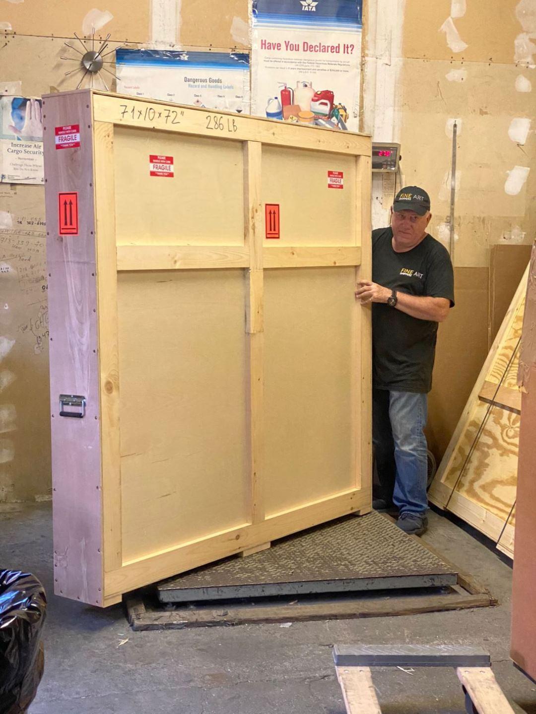 Art Shipping Crates