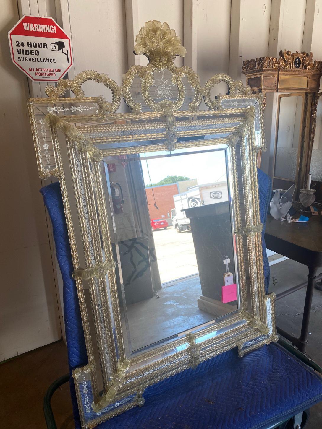 Shipping a Mirror from J. Garrett Auctioneers in Dallas, TX