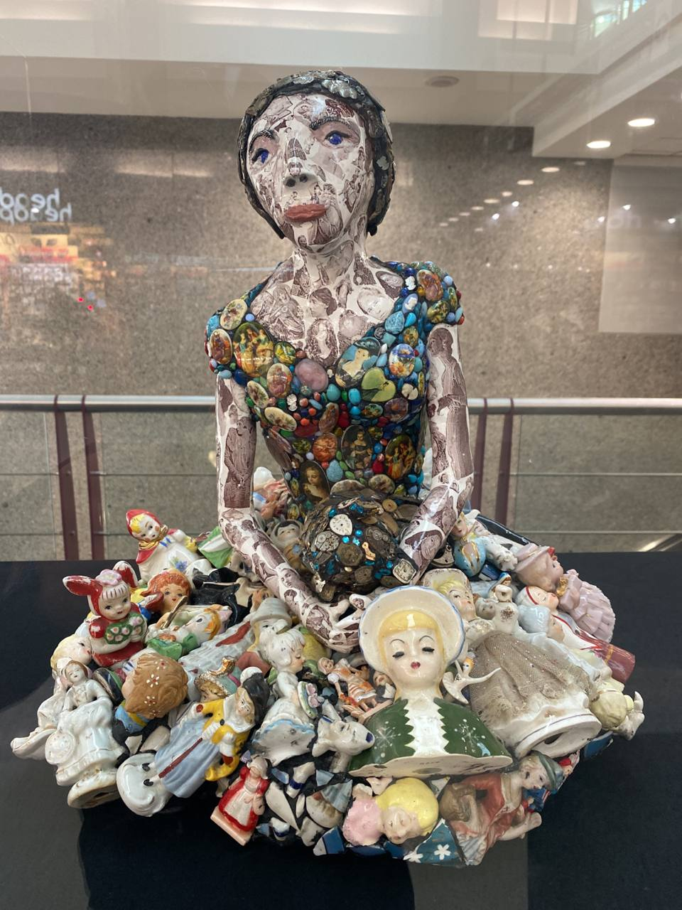 Amazing Sculptures by Mary Engel at the Atlanta Airport